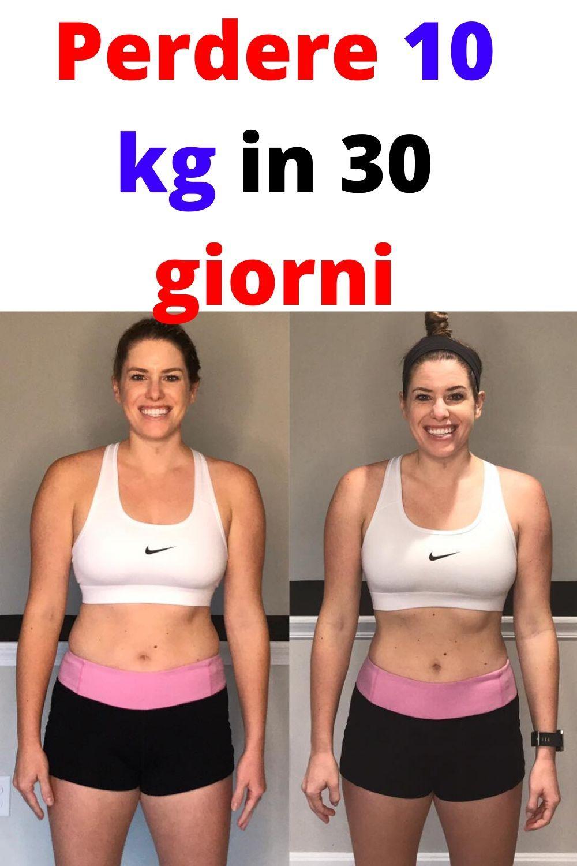 Perdere 10 kg in 30 giorni