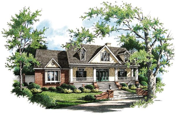 Lexus 1835 7655 3 Bedrooms And 2 5 Baths The House Designers Country Style House Plans Floor Plan Design House Plans