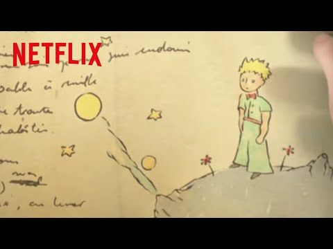 Exclusive Clip The Little Prince Now On Netflix The Little Prince Movie The Little Prince Prince Poster