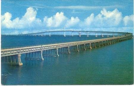 The Chesapeake Bay Bridge Commonly Known As The Bay Bridge Is A - Longest bridge in the usa