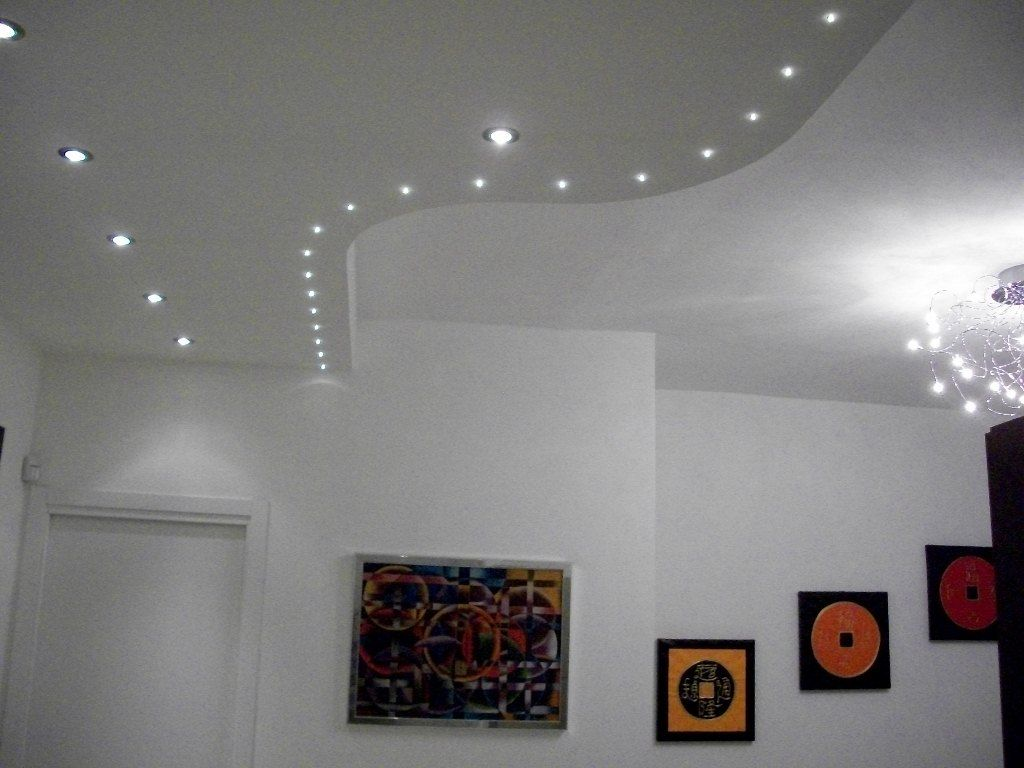Faretti per interni for Led controsoffitto
