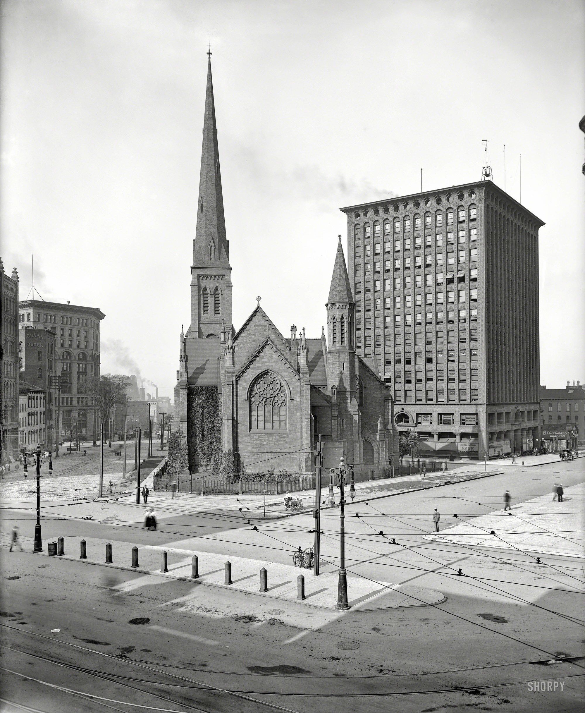 No Cars Around In Buffalo New York 1900 Shorpy Historical