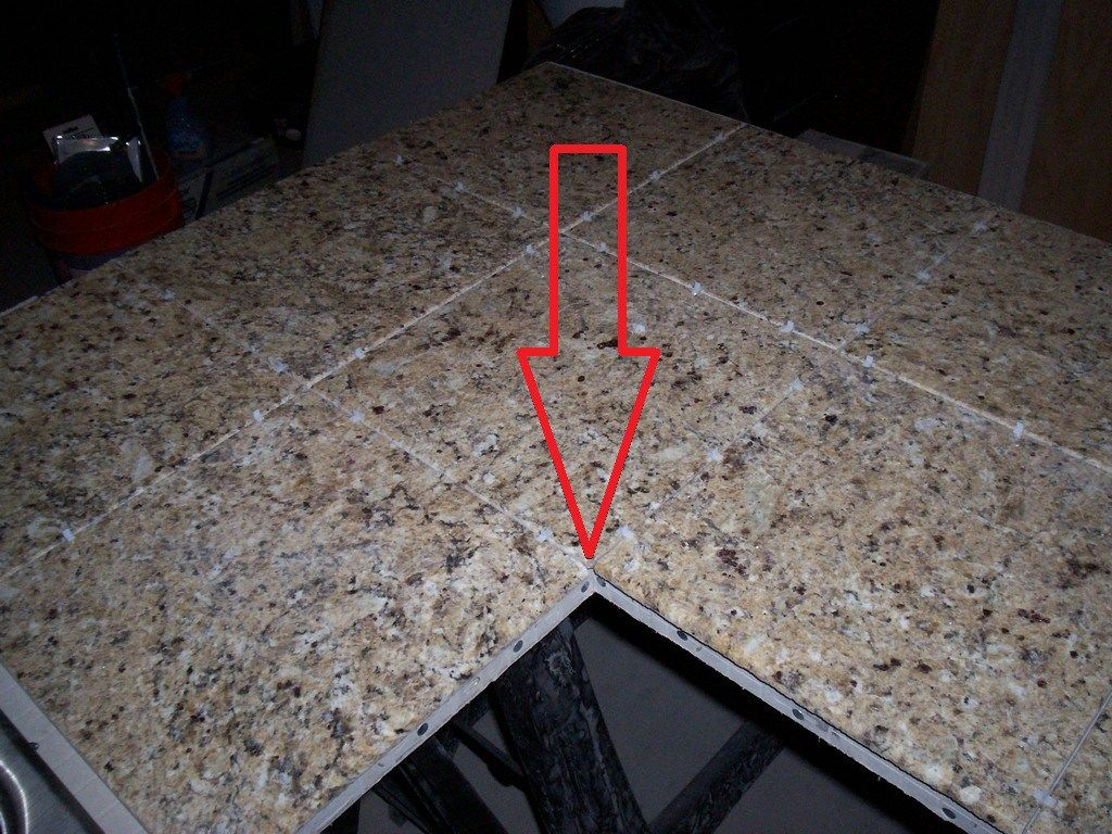 The Ultimate Guide On How To Build A Tile Countertop Just Needs Paint Countertops Tile Countertops Diy Tile
