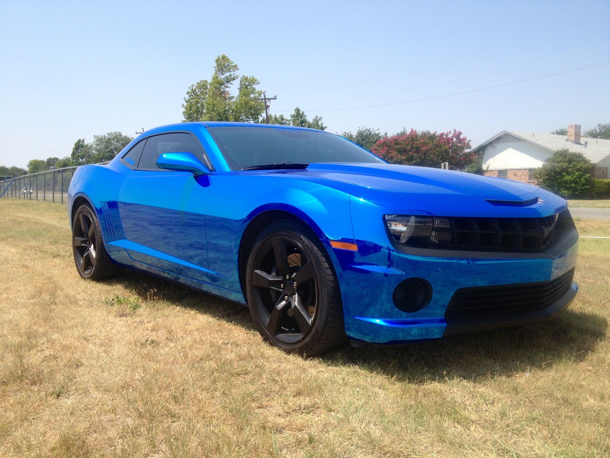 Chrome Blue With Plasti Dipped Rims Car Gadgets Bmw Car Im Blue