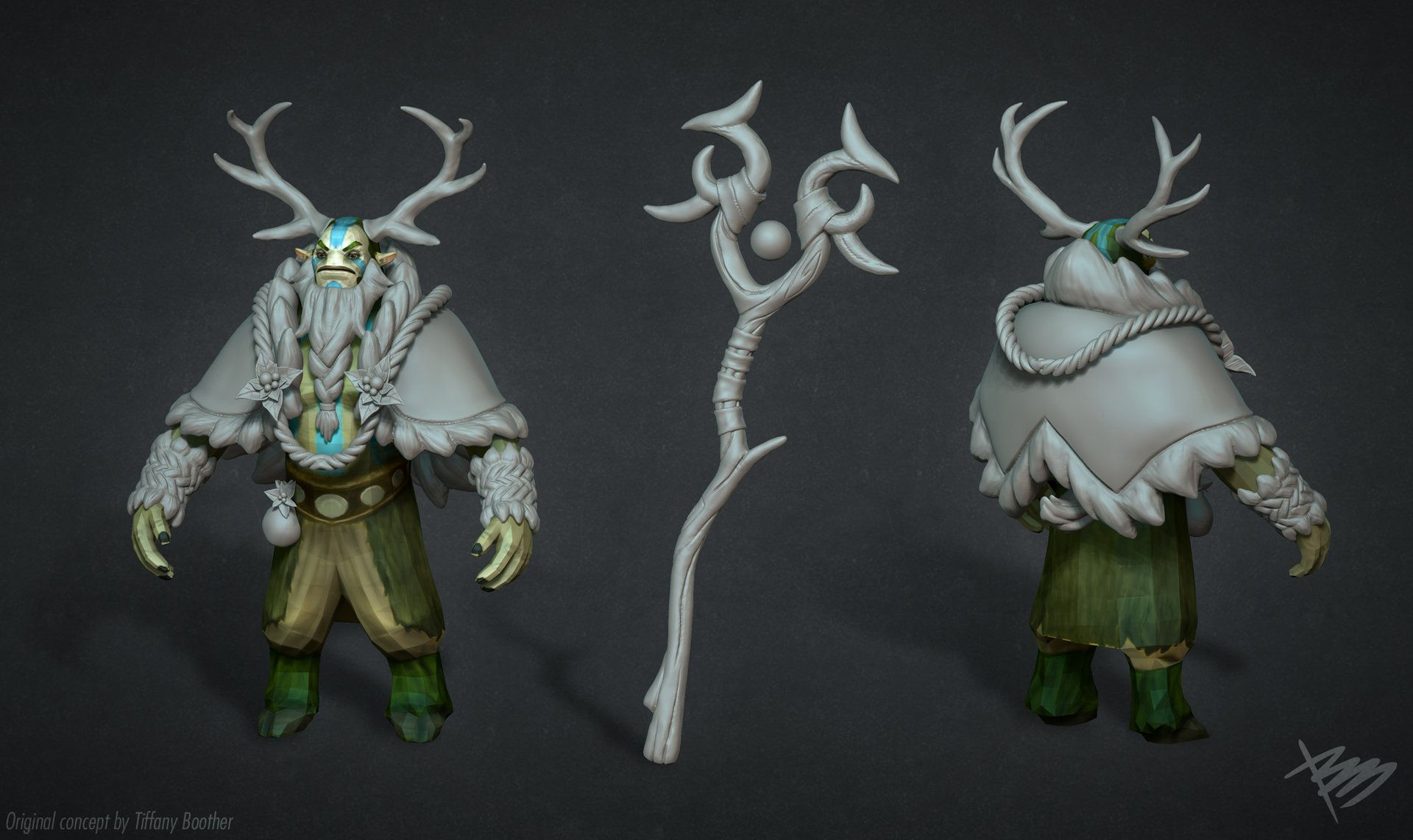 ArtStation - Nature's Prophet - Father of the Forest [Dota 2], Bruno Monti