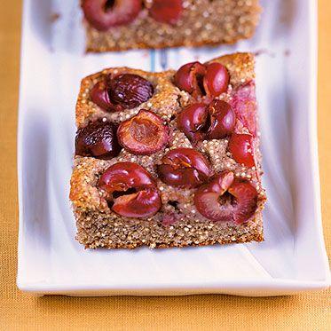 Kirschkuchen Vom Blech Mit Quinoa Buchweizen Kuchen Mit Kirschen Kuchen Ohne Zucker Kirschkuchen