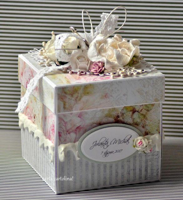 Genialny kartki ręcznie robione, ślubne handmade, eleganckie, pudełka AW16