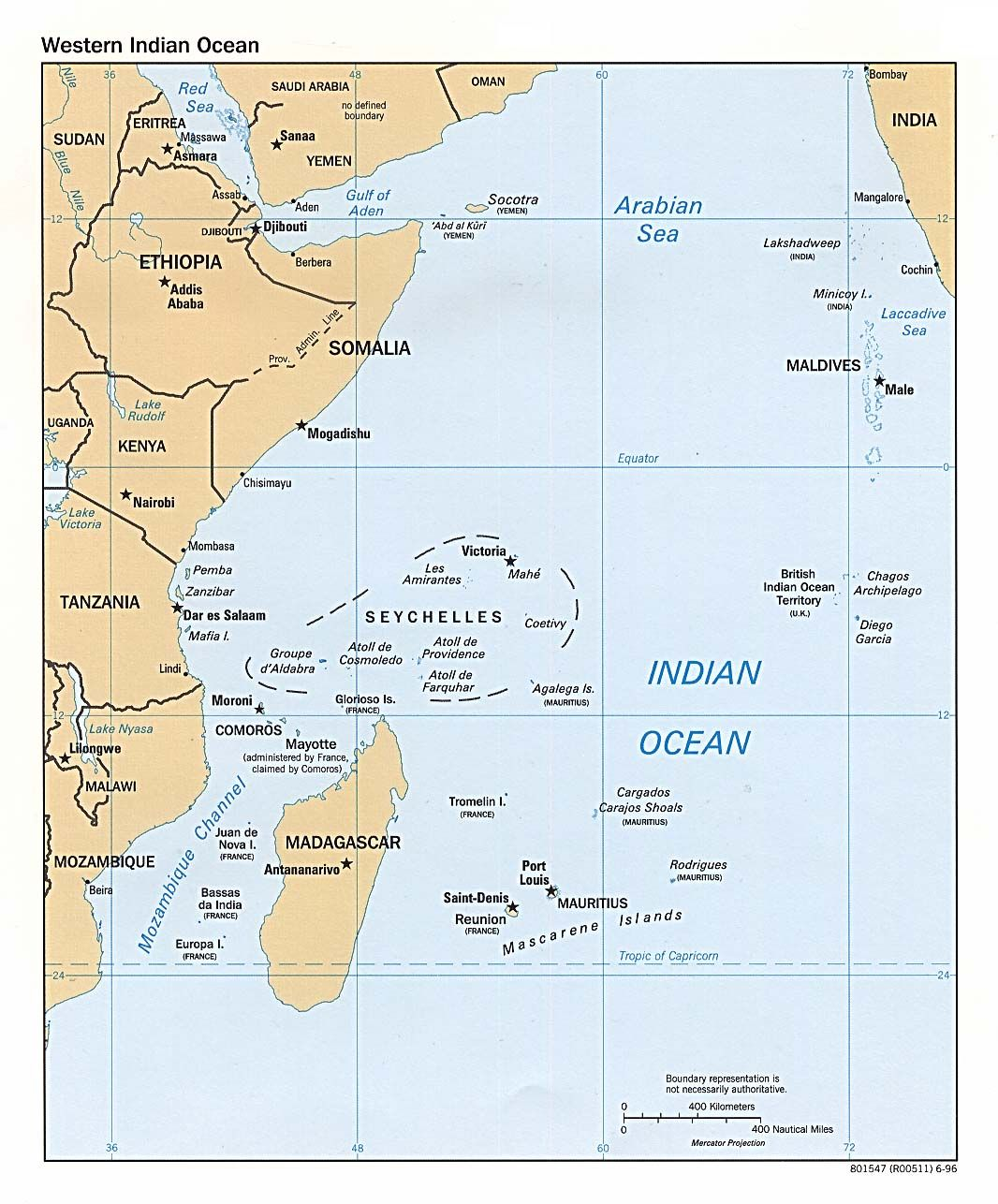 Seychelles Map Seychelles Ocean And Mauritius - Indian ocean seychelles map