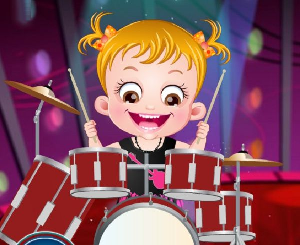 Baby Hazel Musical Melody is game for girls that can learn more about the musical instruments.