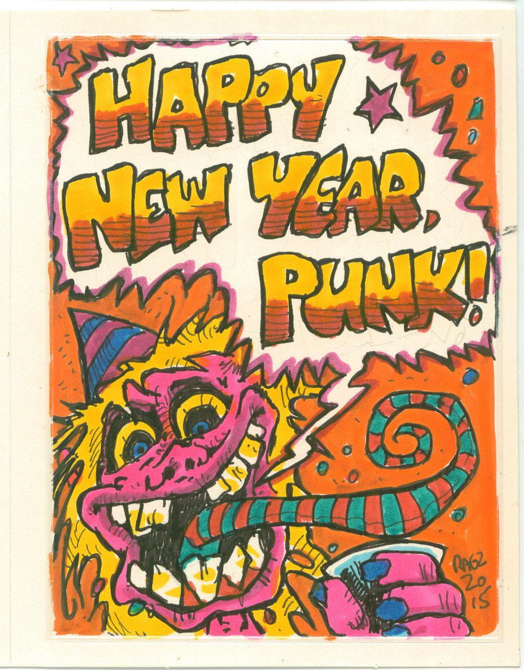 Happy New Year Punk!