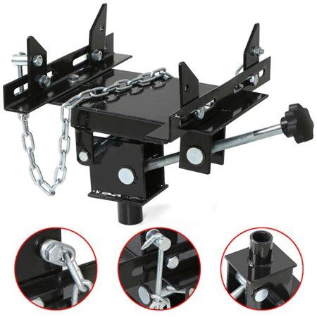 Yaheetech 1/2 ton Transmission Jack Adapter Automotive Floor