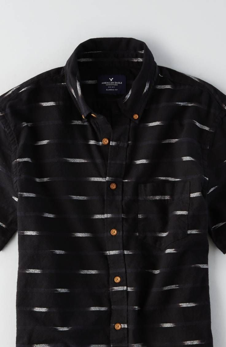 AEO Print Short Sleeve Shirt | American eagle outfitters, Eagle ...
