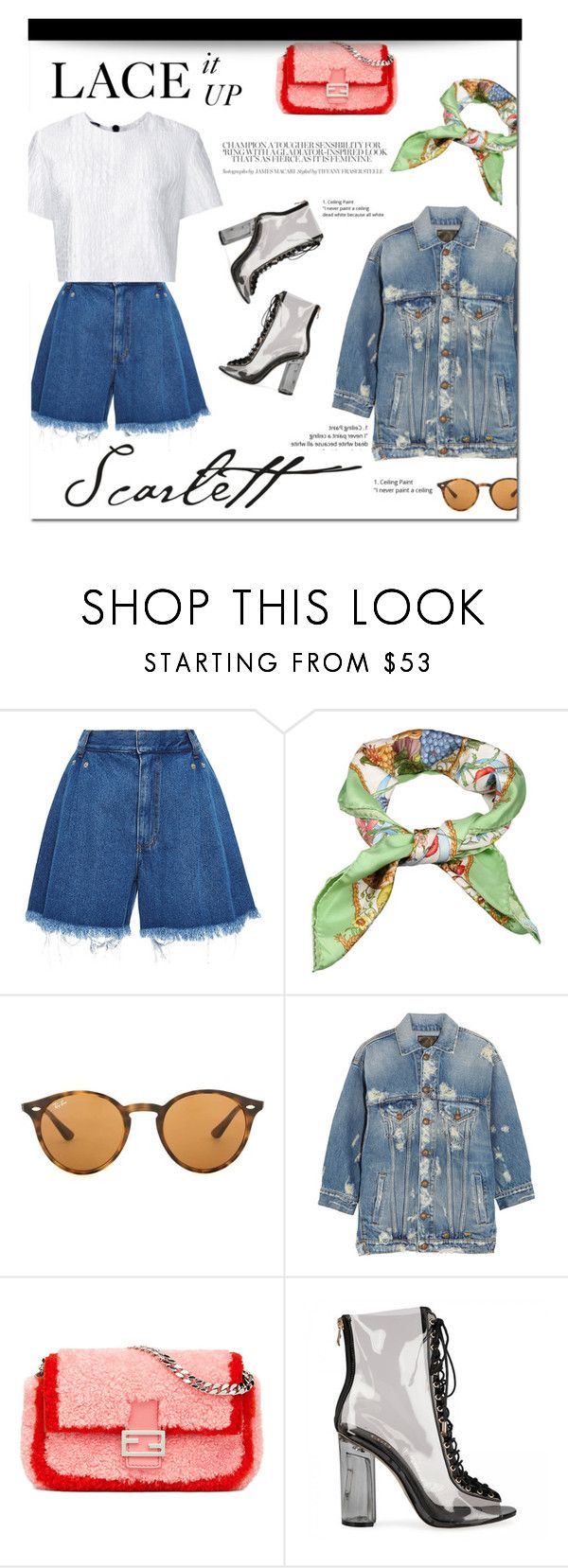 """""""How to Style Clear Lace Up Booties 
