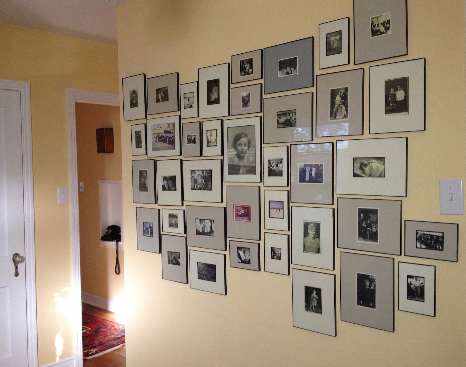 30 Family Picture Frame Wall Ideas Picture Frame Wall Family