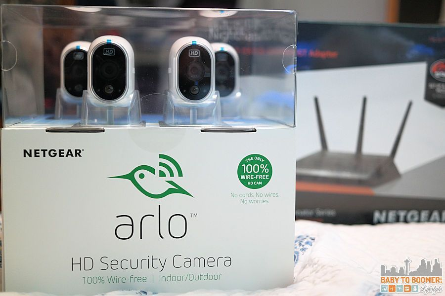 NETGEAR ARLO Home Security Camera - Mount Anywhere Wire-free Indoor ...