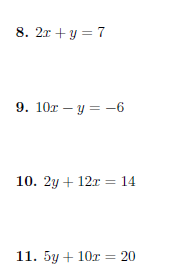 Gradient and y-intercept of a straight line worksheet (with ...