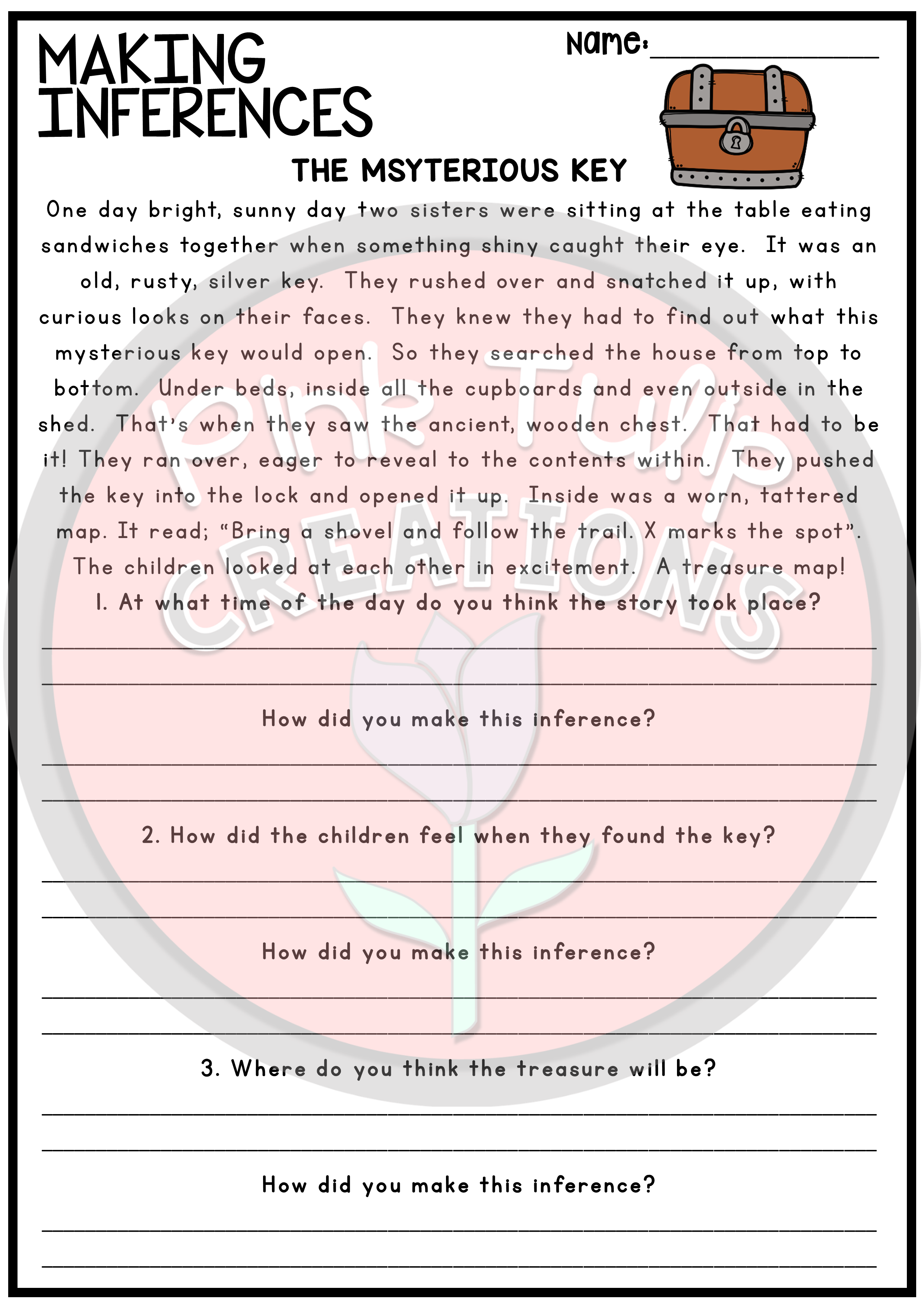 Making Inferences and Drawing Conclusions - Reading Worksheet Pack    Reading comprehension worksheets [ 3508 x 2480 Pixel ]