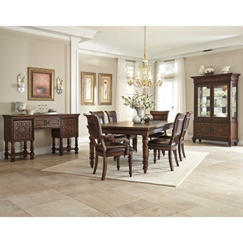 Klaussner Furniture Palencia 7 Piece Dining Set  Furniture Interesting Klaussner Dining Room Furniture Decorating Design