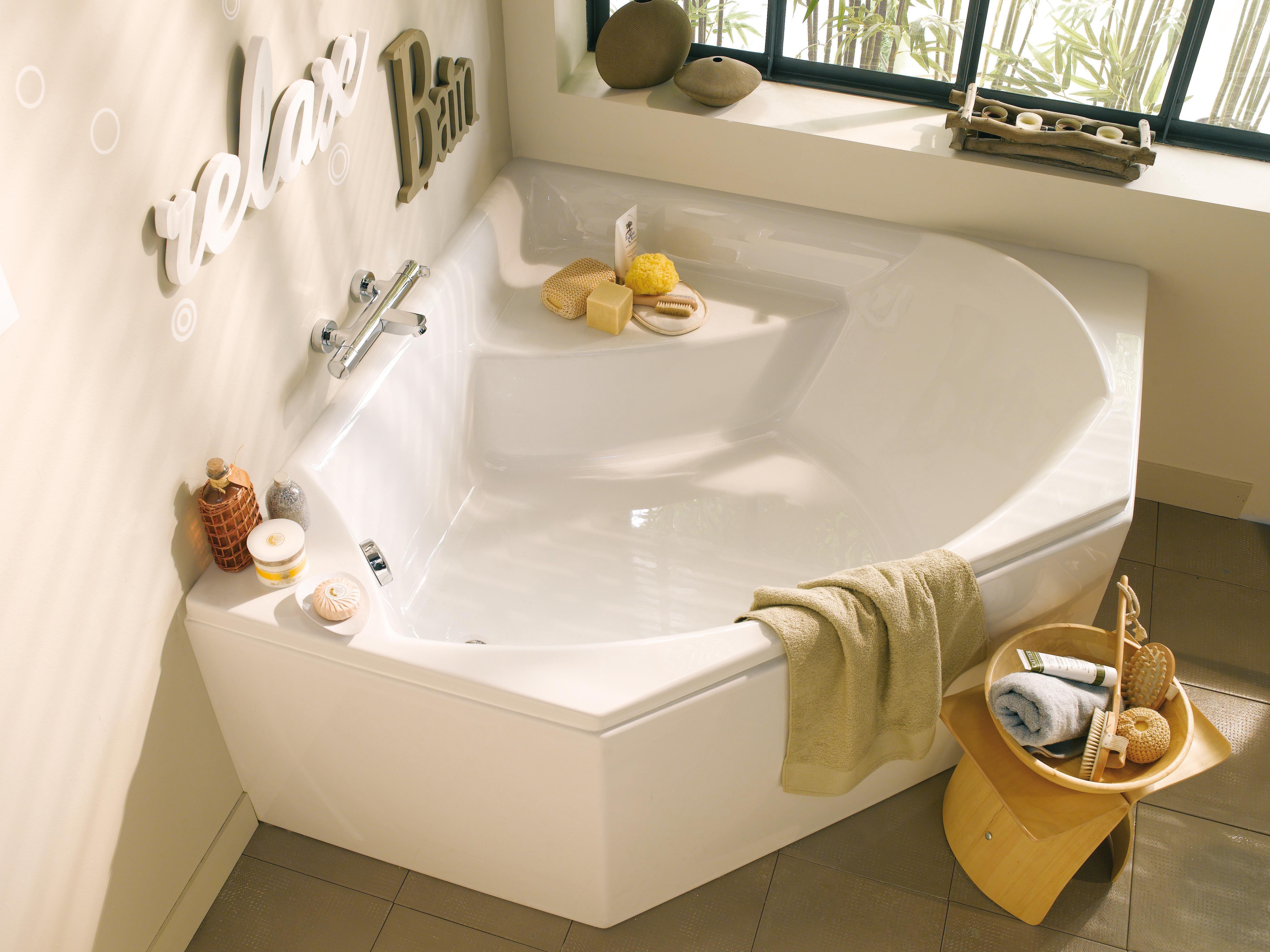 baignoire d angle recherche google toilettes sdb pinterest salle de bains salle et. Black Bedroom Furniture Sets. Home Design Ideas