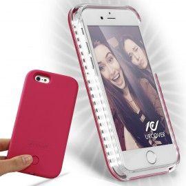 Gadgets Apple Iphone 6 6s Hulle Selfie Light Backcase Urcover Pink Apple Iphone 6 Apple Iphone Handy