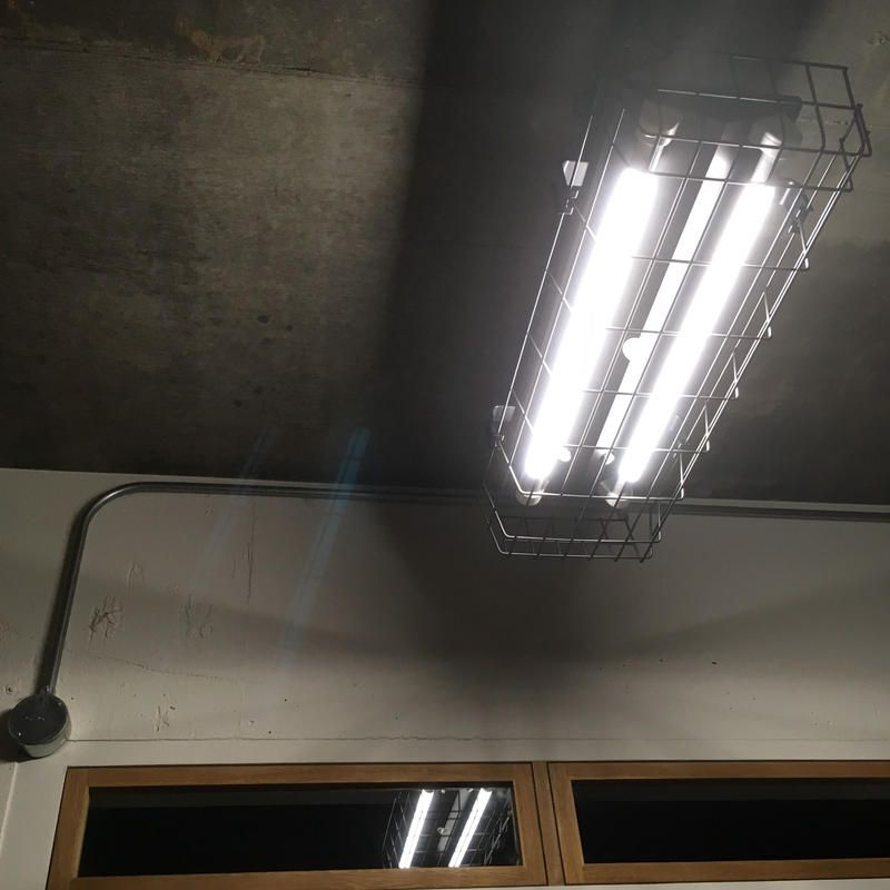 B 2l20gw 配線ダクトレール用 2灯led ライト つや消し黒 ガード付き 照明器具 2020 照明器具 Ledライト 照明
