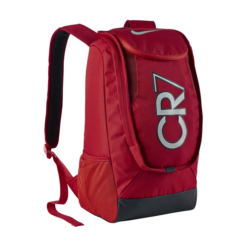 16f581e542 The simple red design features the CR7 symbol of Cristiano Ronaldo. Keep  all your gear