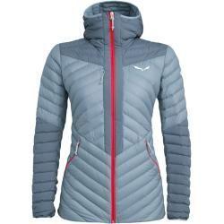 Salewa W Ortles Light 2 Down Hooded Jacket 323436384042 Grau Damen Salewa In 2020 Leichte Daunenjacke Jacken Frauen Daunenjacke
