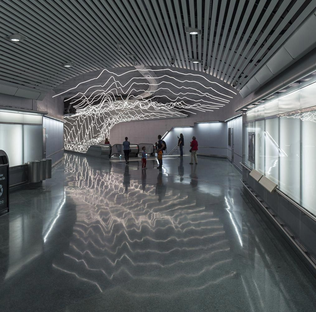 Four Ways To Better Interior Design Installations: Gallery Of Suspended LED Lighting Installation Projects