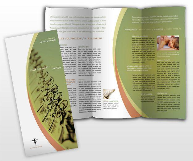 Massageandchiropractictherapytrifoldbrochuretemplate - Massage therapy brochure templates