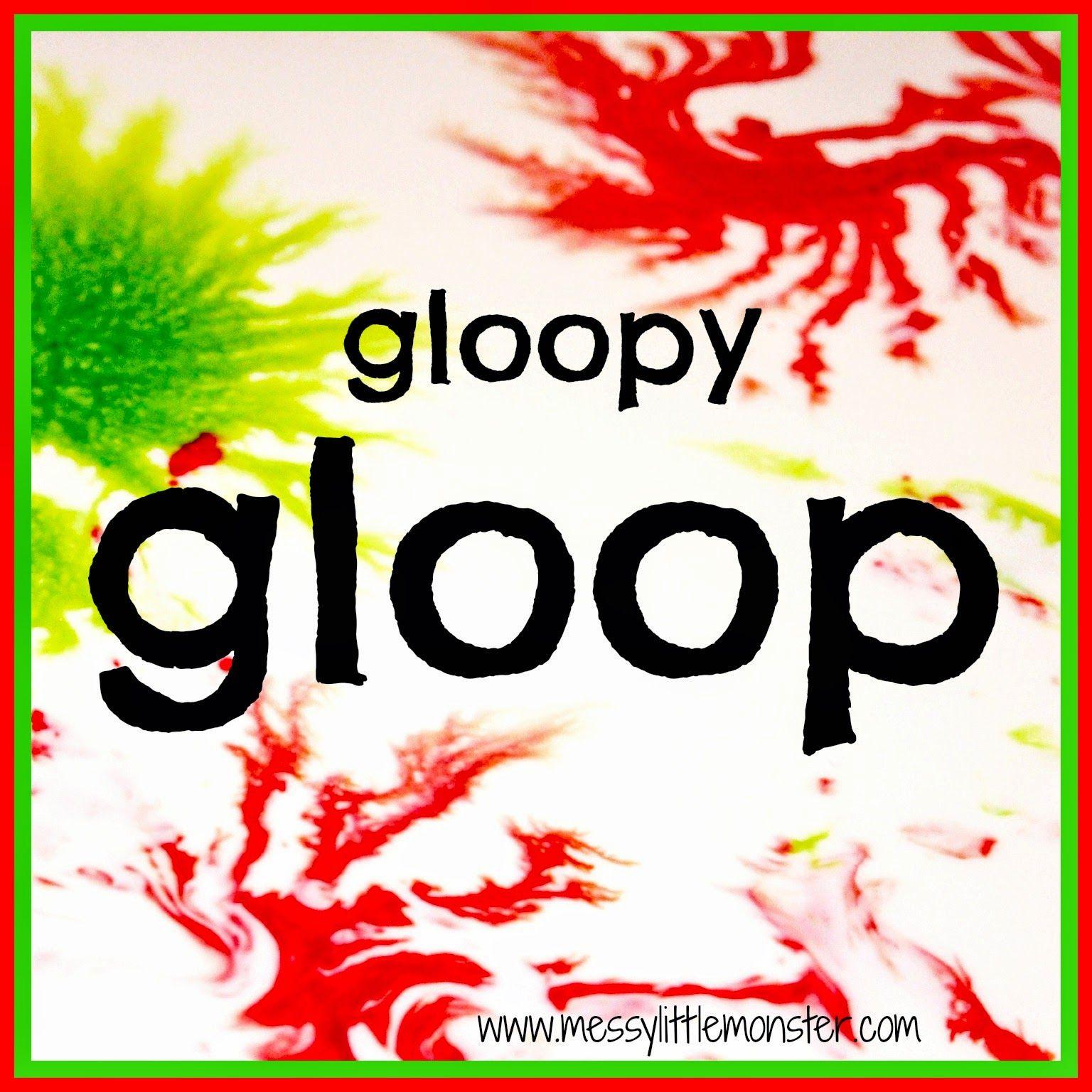 How To Make Gloop