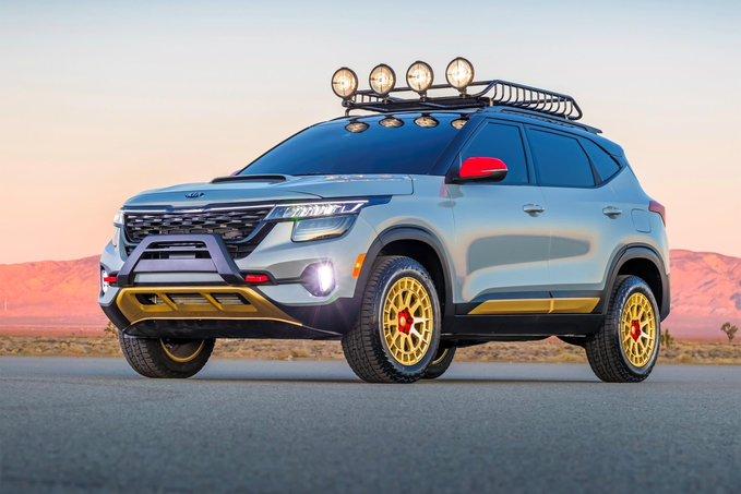 2021 Kia Seltos New SUV в 2020 г