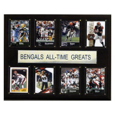 NFL 12 x 15 in. Cincinnati Bengals All-Time Greats Plaque - 1215ATGBEN