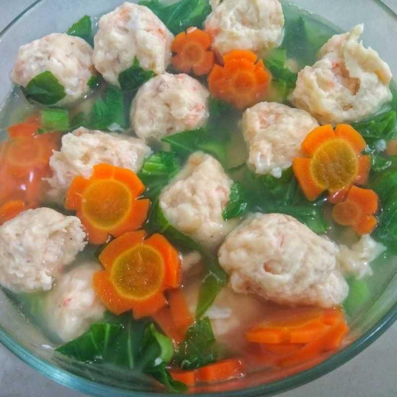 Resep Bakso Ayam Udang Dari Yulia Pratiwi Yummy Co Id Resep Di 2020 Makanan Resep Masakan Asia Udang