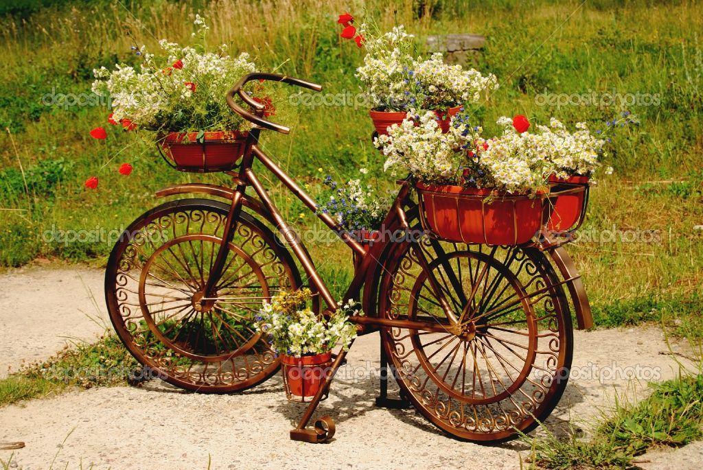 pin von carmen k auf blumenr der garten deko ideen garten deko und altes fahrrad. Black Bedroom Furniture Sets. Home Design Ideas