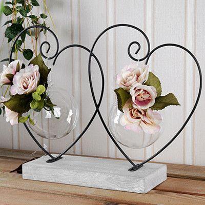 Decoraci n de la boda decoraci n del hogar retro hierro for Decoracion hogar jarrones