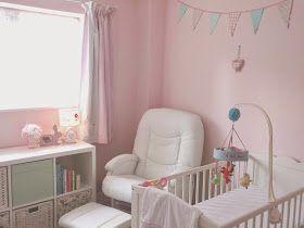 Dulux Sorbet Paint Nursery Girls Bedroom Room