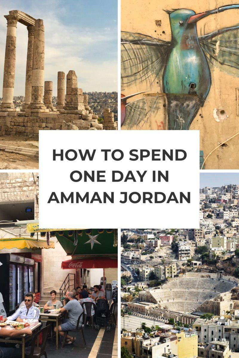 Amman Jordan One Day Itinerary #ammanjordan