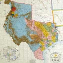 Map Of Texas New Mexico And Colorado The Republic of Texas 1836   1845 included parts of Oklahoma