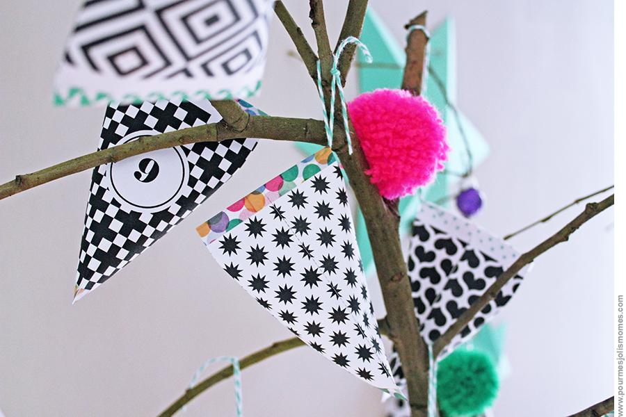 L'arbre à berlingots (calendrier de l'avent // DIY) #calendrierdel#39;aventdiy