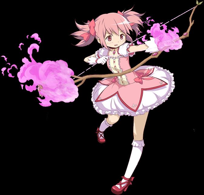 New Official Transparent Artwork Of Kaname Madoka And Akemi Homura From Puella Magi Madoka Magica S Magical Girl Anime Modoka Magica Mahō Shōjo Madoka Magica