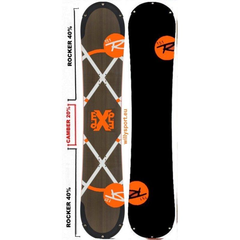 037250c065c8  Rossignol EXP AmpTek altezza 151 tavola  snowboard  freestyle uomo  outlet  158 euro
