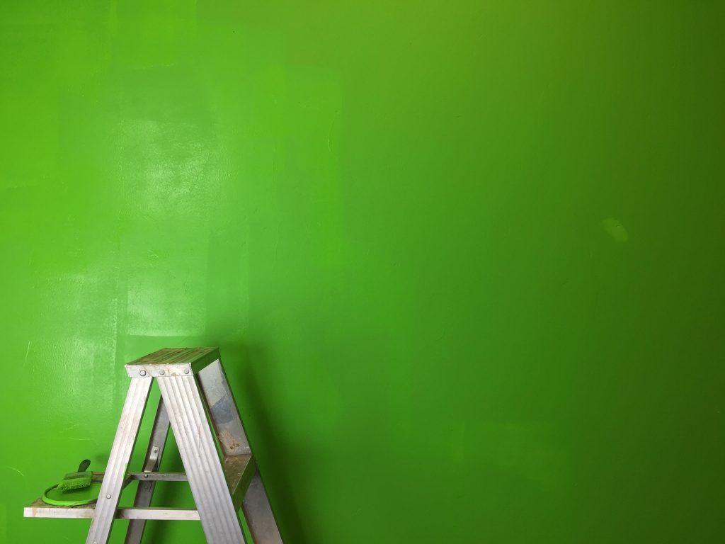 wand #grün #malen #streichen #green #farbe | Schöne Wände – Wände ...