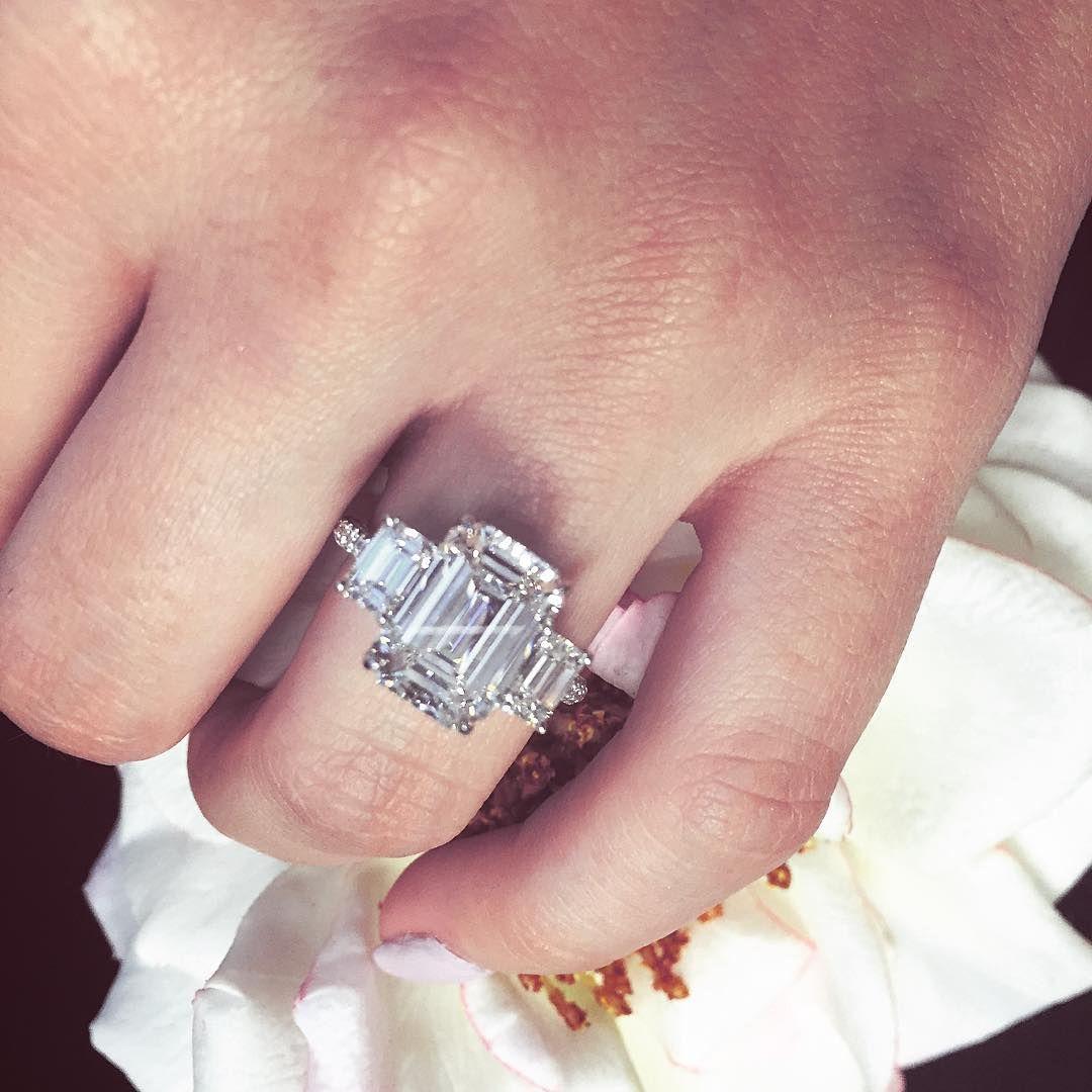 Emerald cuts all around! | Diamond Classics | Pinterest | Emerald ...