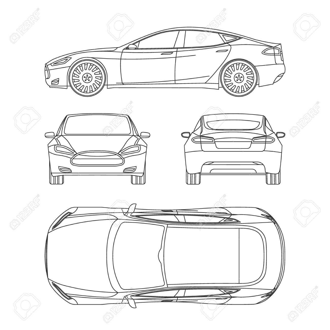 Car Line Draw Insurance Rent Damage Condition Report Form Blueprint In Car Damage Report Template Callfor Report Template Blueprints Professional Templates