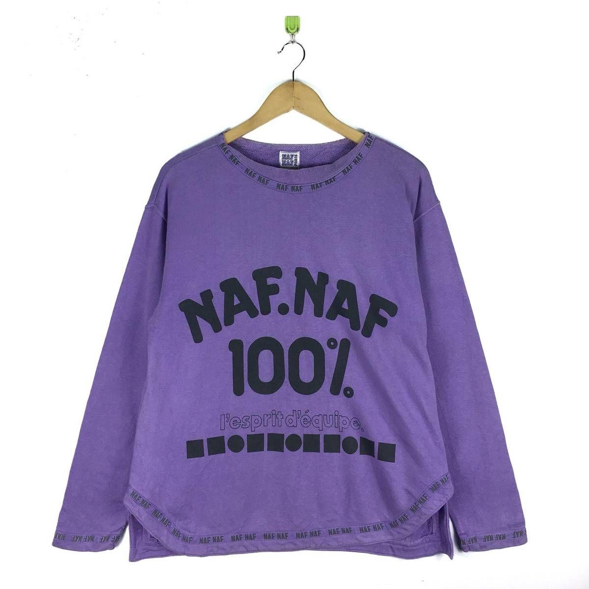 Naf Naf Paris Pullover Hoodie!