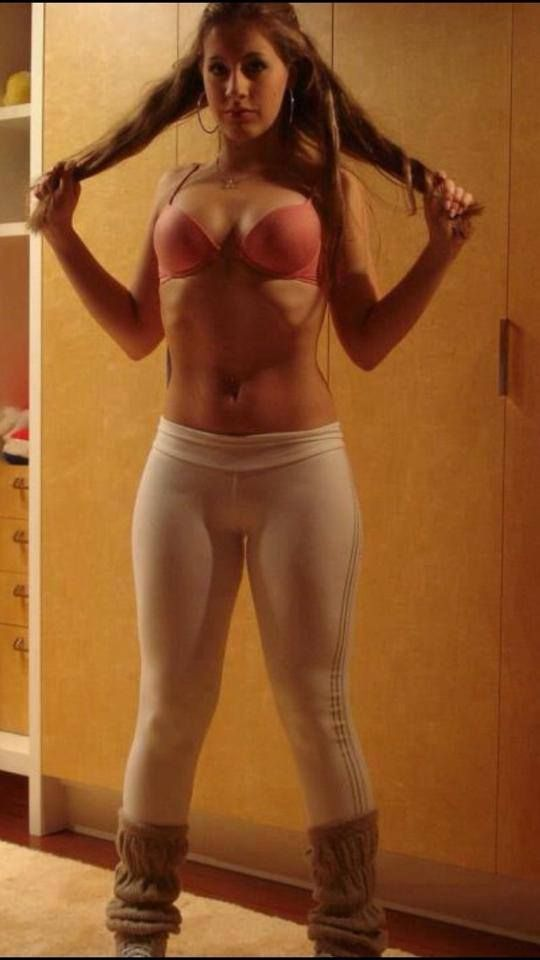 Sexy mom totally nude