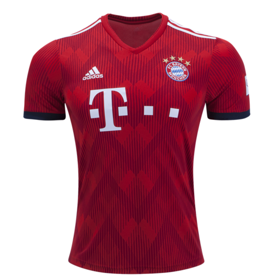 14331f6fc35 Bayern Munchen 18/19 Home Men Soccer Jersey Personalized Name and Number -  zorrojersey