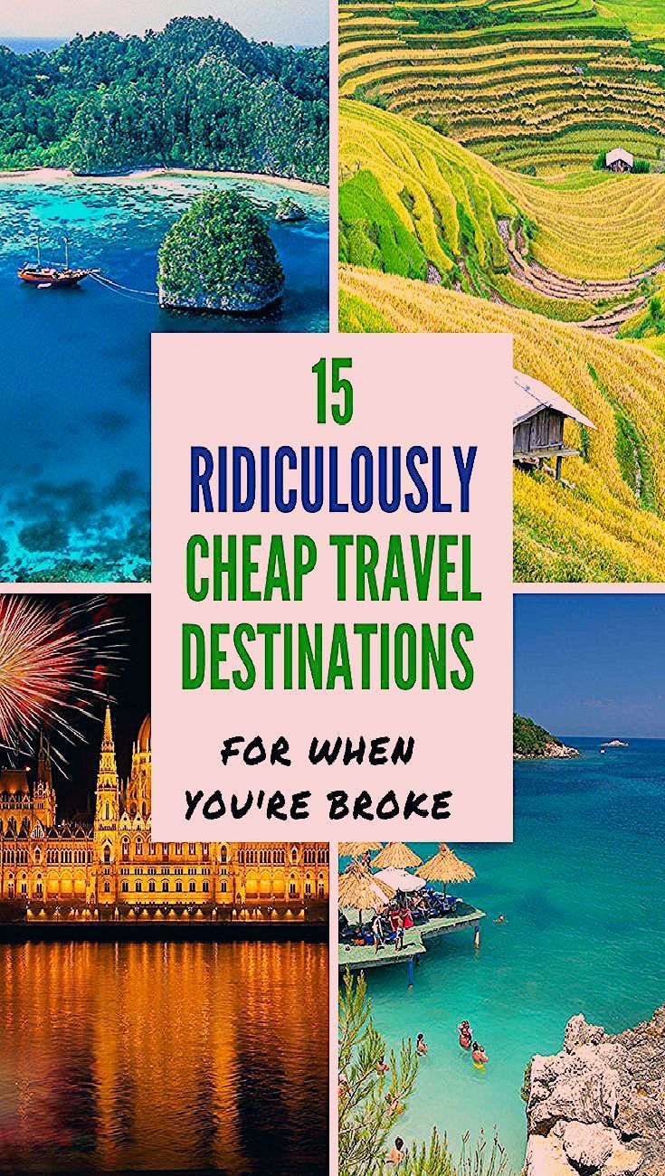 Photo of 15 RIDICULOUSLY CHEAP TRAVEL DESTINATIONS FOR WHEN YOU'RE BROKE