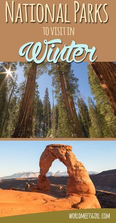 Winter is a great time to visit the many national parks in the USA. Find out how to have those amazing views all to yourself!