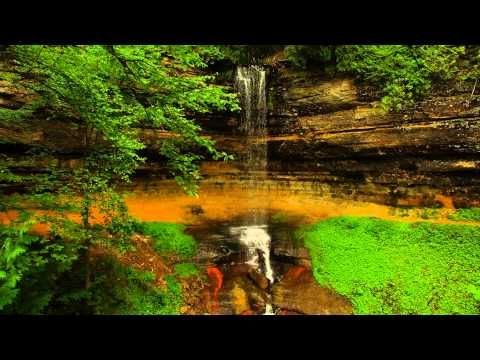 Munising falls - YouTube